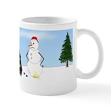 Doxie Winter Wonderland Mug