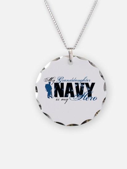 Granddaughter Hero3 - Navy Necklace
