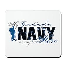 Granddaughter Hero3 - Navy Mousepad