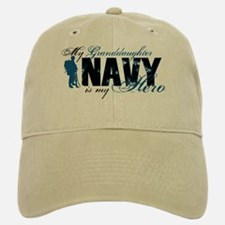 Granddaughter Hero3 - Navy Baseball Baseball Cap