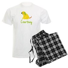 Courtney Loves Puppies Pajamas