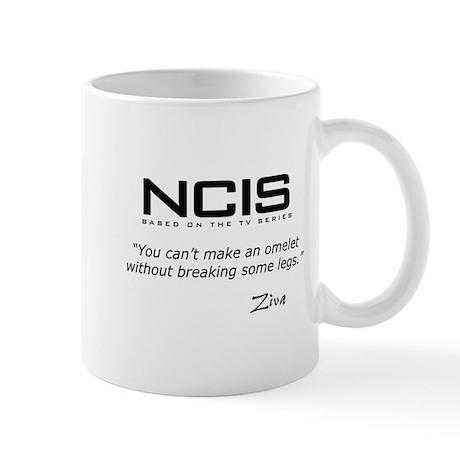 NCIS Ziva Omelet Quote Mug