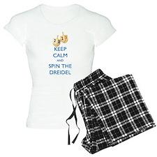 Keep Calm and Spin the Dreidel Pajamas