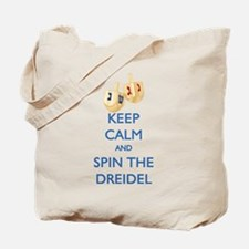 Keep Calm and Spin the Dreidel Tote Bag