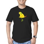 Jo Loves Puppies Men's Fitted T-Shirt (dark)