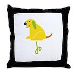 Jo Loves Puppies Throw Pillow