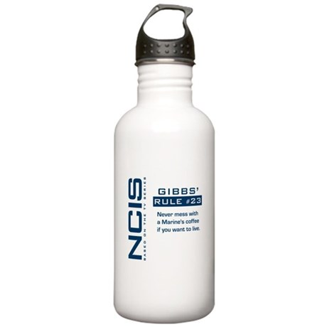 NCIS Gibbs' Rule #23 Stainless Water Bottle 1.0L