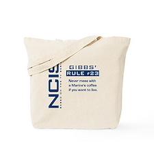 NCIS Gibbs' Rule #23 Tote Bag