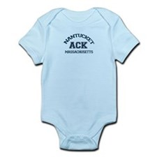 Nantucket MA - Varsity Design Infant Bodysuit