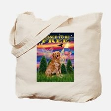 Free / Golden Tote Bag