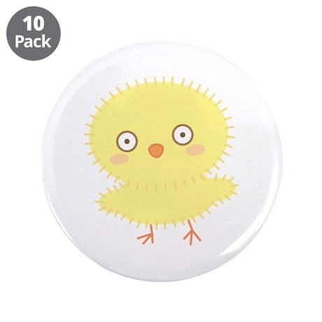 "Little Chick Candi 3.5"" Button (10 pack)"