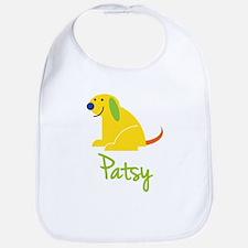 Patsy Loves Puppies Bib