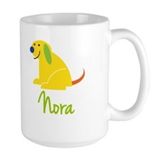 Nora Loves Puppies Ceramic Mugs