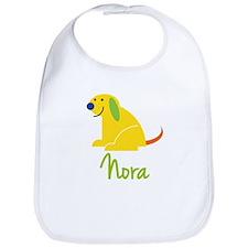Nora Loves Puppies Bib