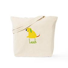 Leah Loves Puppies Tote Bag