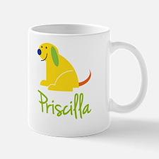 Priscilla Loves Puppies Mug