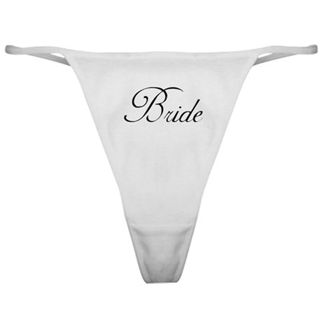 Bride's Classic Thong