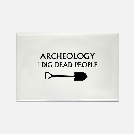 Archeology Rectangle Magnet