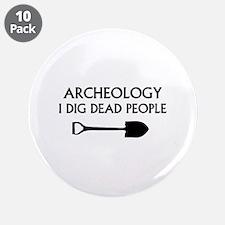 "Archeology 3.5"" Button (10 pack)"