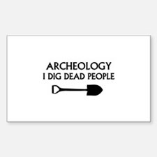 Archeology Decal