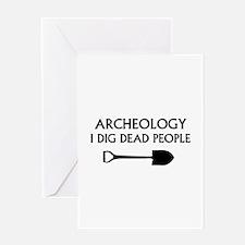 Archeology Greeting Card