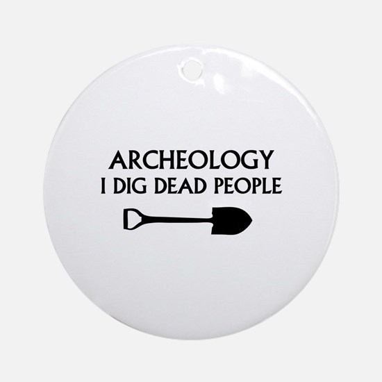 Archeology Ornament (Round)