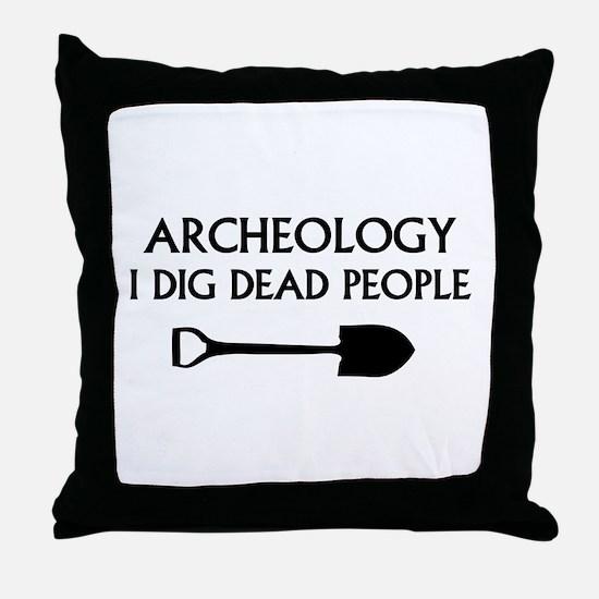 Archeology Throw Pillow