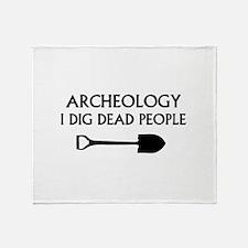 Archeology Throw Blanket