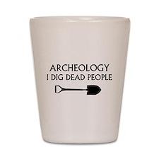 Archeology Shot Glass