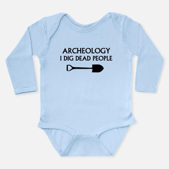 Archeology Long Sleeve Infant Bodysuit