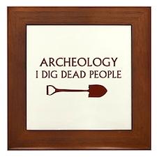 Archeology Framed Tile