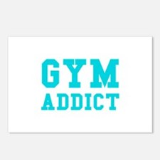GYM ADDICT Postcards (Package of 8)