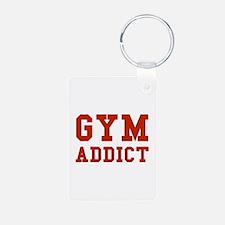 GYM ADDICT Keychains