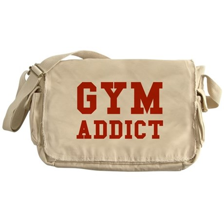 GYM ADDICT Messenger Bag