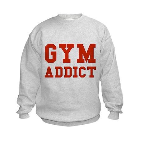 GYM ADDICT Kids Sweatshirt