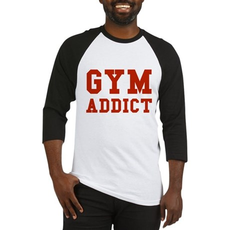 GYM ADDICT Baseball Jersey