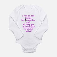 Funny Sayings Baby Suit