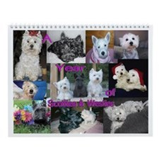 A Year of Scotties & Westies Calendar