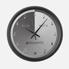 BLUE NOTE Large Wall Clock