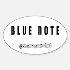 BLUE NOTE Oval Decal