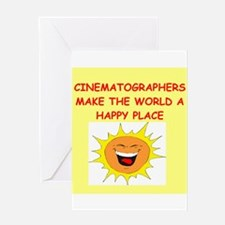 cinematography Greeting Card