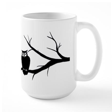 owlart01 copy Mugs