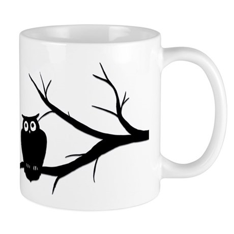 owlart01 copy Mugs