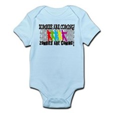 Zombies are Coming! Infant Bodysuit