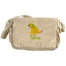 Felicia Loves Puppies Messenger Bag