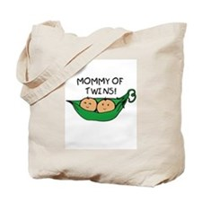 Mommy of Twins Tote Bag