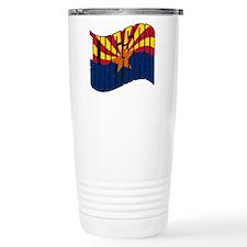 Tucson AZ Flag Travel Mug