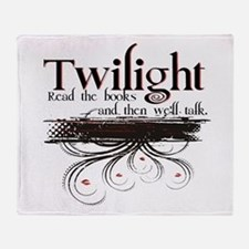 Read a Book, Twilight Throw Blanket