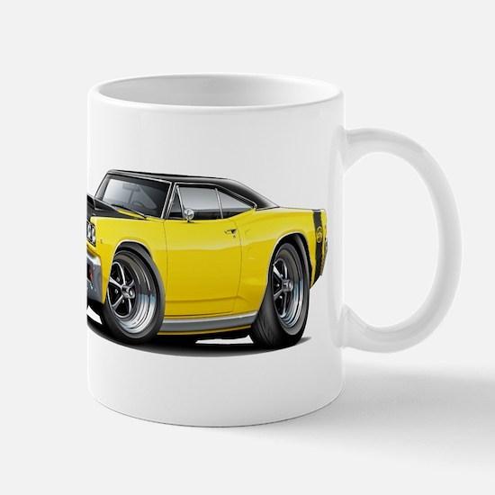 1968 Super Bee Yellow Car Mug