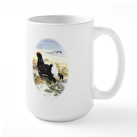 Black Grouse Large Mug